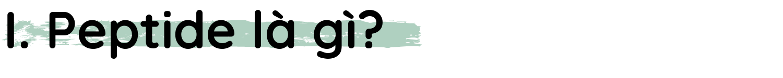 h1 Peptide là gì